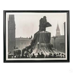 Christo & Jean Claude Modern Photograph Art Print