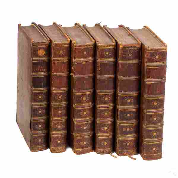 Churchills Voyages And Travel Books 1732 Vols 1-6