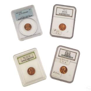Lincoln Penny Wheat Cent 1909 1940 19561959 Graded
