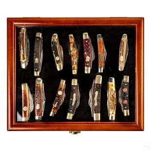 Estate Knife Collection (14) Folding Pocket Knives