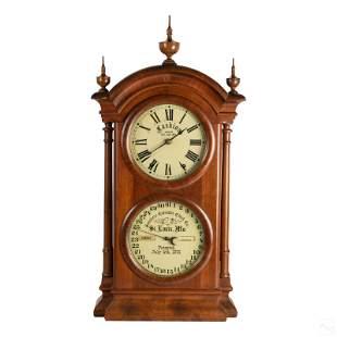 19th Cent. Antique Southern Calendar Fashion Clock