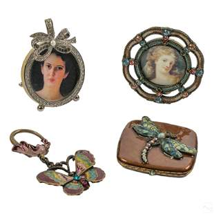 Jay Strongwater Key Chain, Photo Frames & Compact