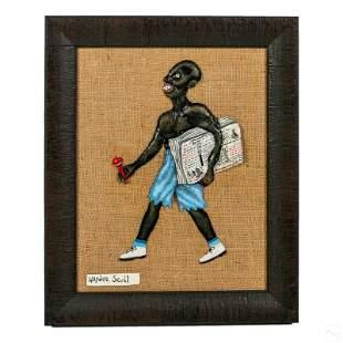 Haydee Scull 1931-2007 Cuban Folk Art Oil Painting