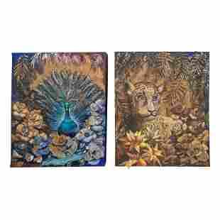 Haydee Scull (1931-2007) Cuban Folk Art Paintings
