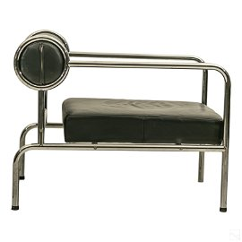 "Shiro Kuramata 32"" SOFA WITH ARMS Cappellini Chair"