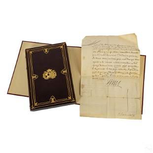 King Louis XIV of France Signed Handwritten Letter