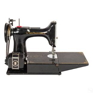 Singer Featherweight Electric Sewing Machine 221-1