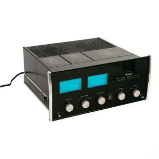 McIntosh MC2105 Solid State Stereo Power Amplifier