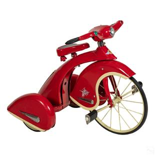 Retro Sky King Air Flow Collectibles Red Tricycle