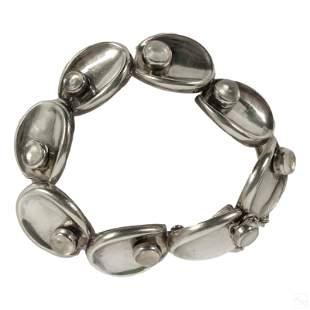 Antonio Pineda Moonstone Sterling Silver Bracelet