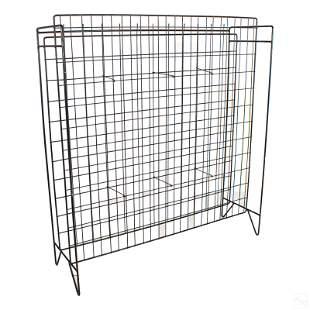 Modern General Store Standing Wire Display Shelf