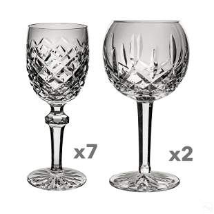 Waterford Crystal Lismore and Powerscourt Glasses