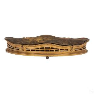 """French 16"""" Dore Bronze Cardelima Centerpiece Bowl"""