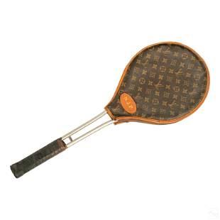 Louis Vuitton Leather Tennis Racket Cover Case
