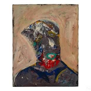 Royi Akavia (b.1956) Abstract Surrealism Painting