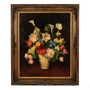 Joseph Jost 1888-1969 Austrian Still Life Painting