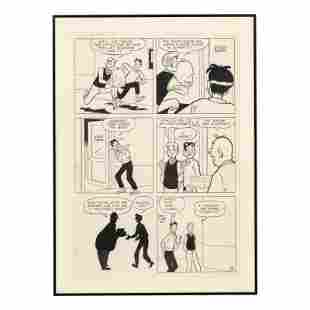 Archie Comics Cartoon Strip Art Artist Proof #153