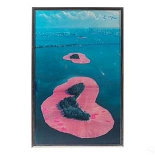 """Christo (1935-2020) Surrounded Islands 41"""" Poster"""