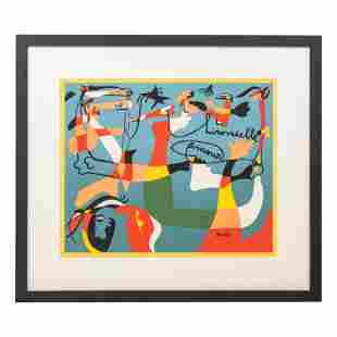 Hirondelle Amour 1933 Modern Print after Joan Miro