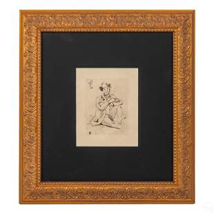 Guillaumin Hanging Man Print after Paul Cezanne