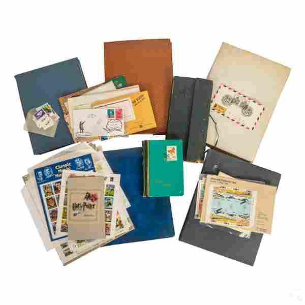 US & International Postage Stamp Collections HUGE