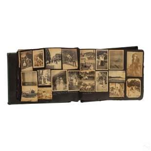 Victorian and Edwardian Antique Travel Photo Album
