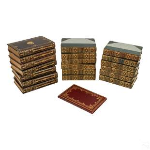 Leather Bound Book Collection Mme Sevigne & C Lamb