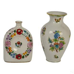 Hungarian Porcelain Herend Kalocsa Zsolnay Group