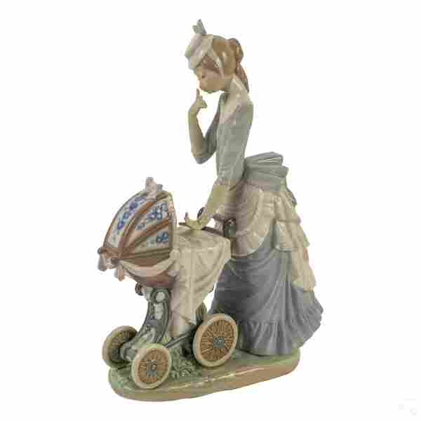 """Lladro Baby's Outing 13"""" Figurine Sculpture # 4938"""