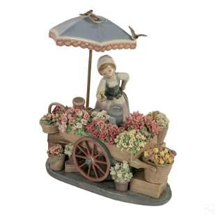 Lladro Flowers of the Season Porcelain Figurine