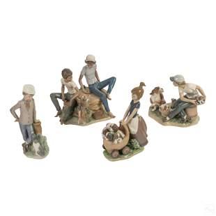 Lladro Spanish Porcelain Figurine Sculptures LOT