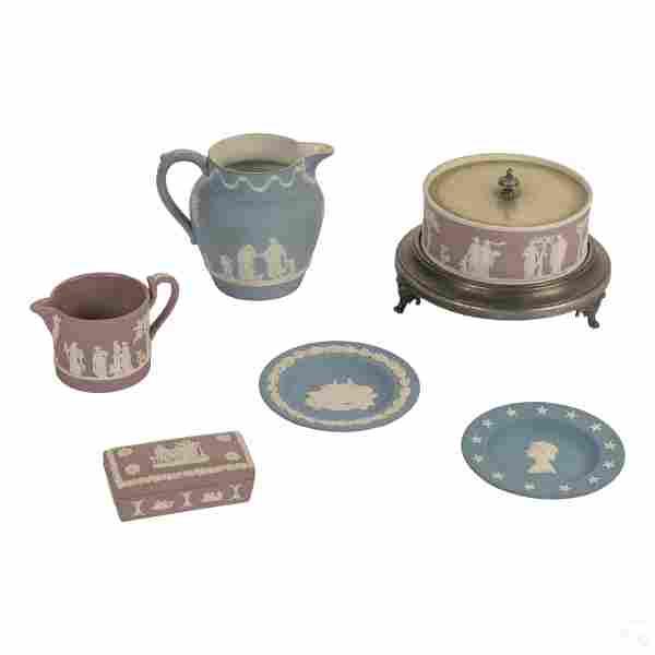 Wedgwood English Jasperware Porcelain Pottery LOT