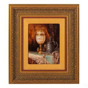 Ludwig Augustin 1882-1960 Orientalist Oil Painting