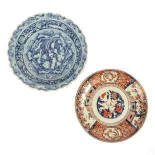 Chinese Porcelain Imari and Blue & White Chargers