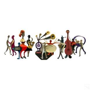 Raymond Karpuska (b1952) Modern Band Art Sculpture