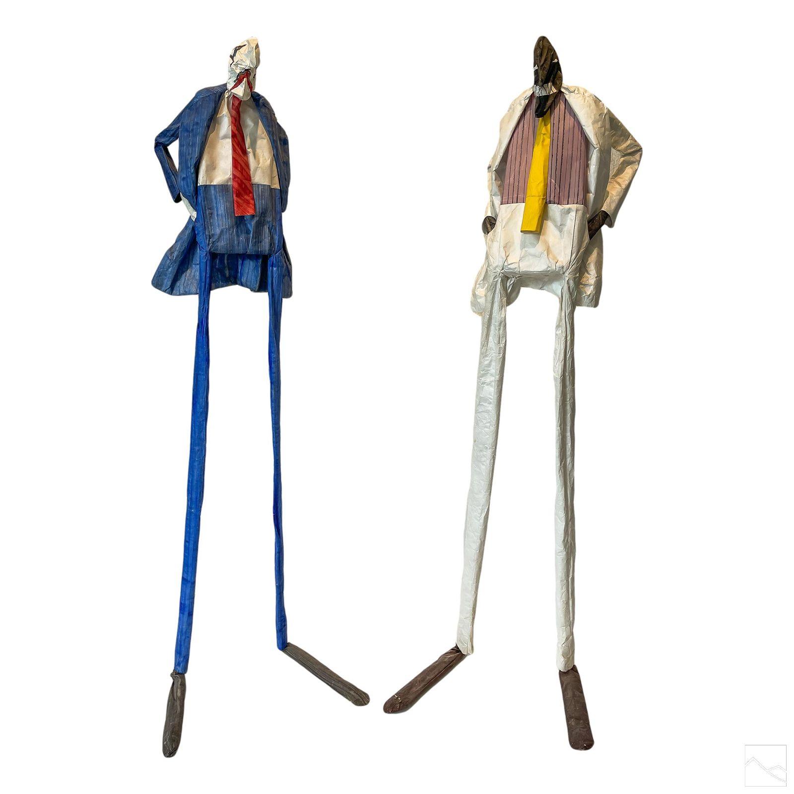 William Dickey King (1925-2015) Pop Art Sculptures