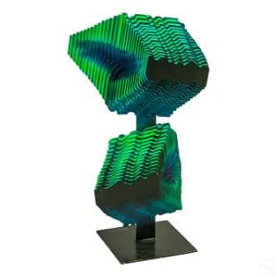 Hernan Monterola b.1967 Modern Abstract Sculpture