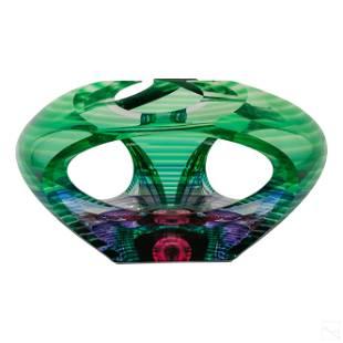 Kit Karbler & Michael David Modern Art Glass Bowl