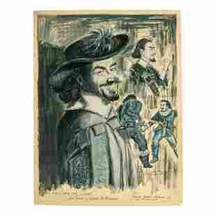 George Crionas Jose Ferrer as Cyrano De Bergerac