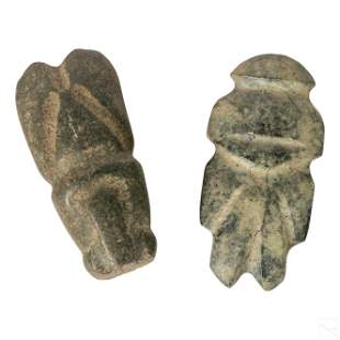 Pre Columbian Style Antique Stone Tool Artifacts