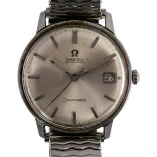Omega Seamaster Date Steel Watch Ref. # 166.001