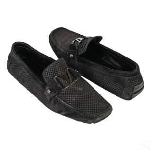 Louis Vuitton Mens Monte Carlo Leather Shoes s 9.5