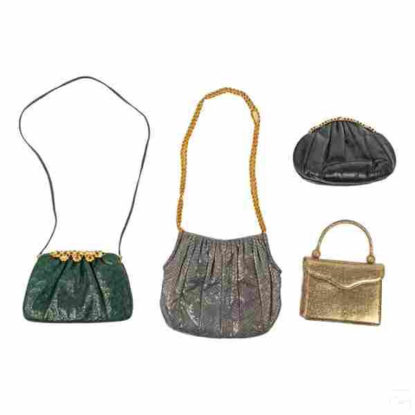 Judith Leiber Handbag Evening Bag and Purse LOT