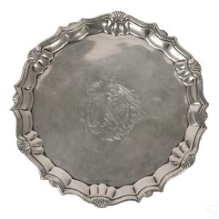 Robert Abercromby Sterling Silver George II Salver