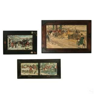 Cecil C.W Aldin 1870-1935 English Hunt Lithographs