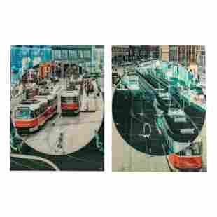 Modern European Digital Cityscape Art Photographs