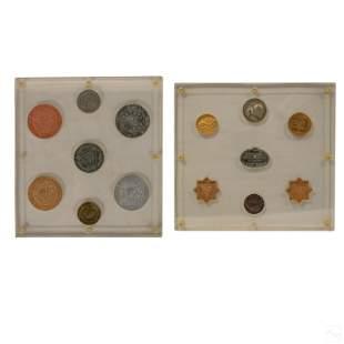 Silver & Bronze Philatelic Stamp Collectors Metals