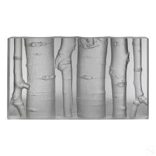 Steuben American Aspen Glade Art Glass Sculpture