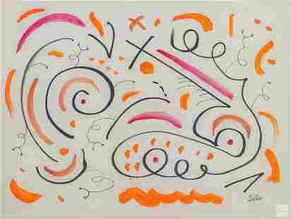 Phyllis Diller 1917-2012 Modern Abstract Painting