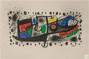 Joan Miro (1893-1983) Catalonia Lithograph c.1970